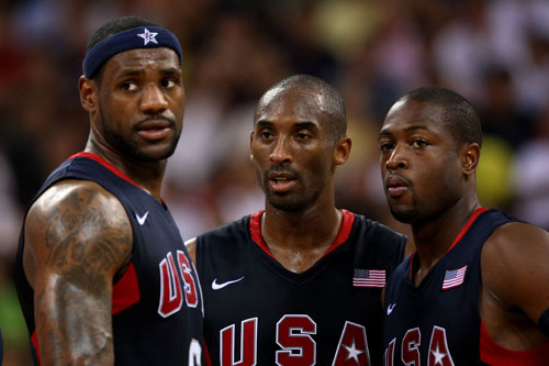 Lebron, Wade and Kobe